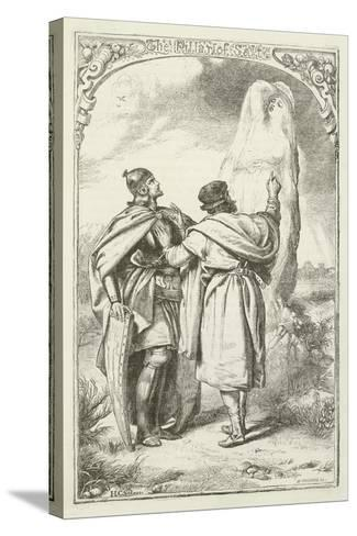 Illustration for the Pilgrim's Progress-Henry Courtney Selous-Stretched Canvas Print