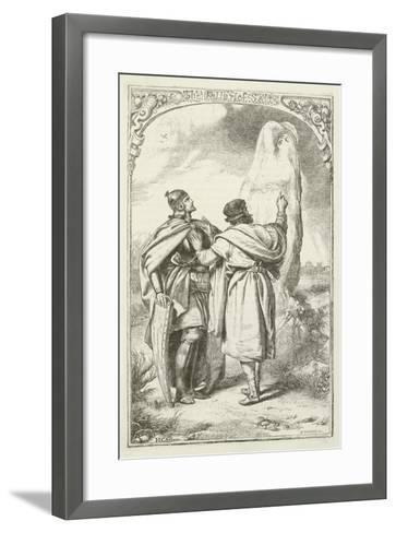 Illustration for the Pilgrim's Progress-Henry Courtney Selous-Framed Art Print