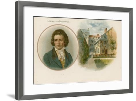 Ludwig Van Beethoven, German Composer and Pianist--Framed Art Print