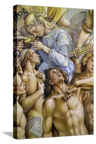 Elect, from Last Judgment Fresco Cycle, 1499-1504-Luca Signorelli-Stretched Canvas Print