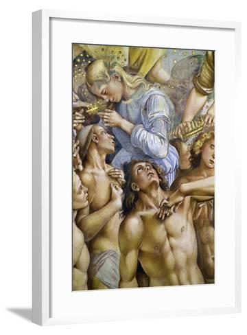 Elect, from Last Judgment Fresco Cycle, 1499-1504-Luca Signorelli-Framed Art Print