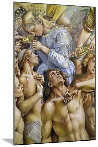 Elect, from Last Judgment Fresco Cycle, 1499-1504-Luca Signorelli-Mounted Giclee Print