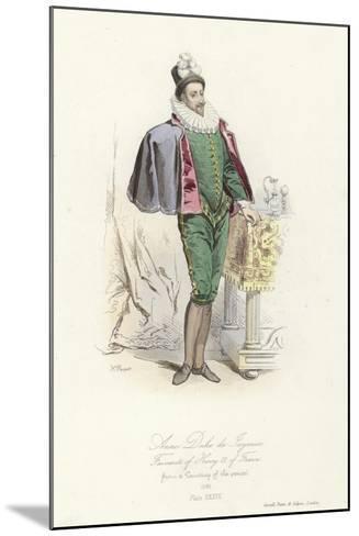 Anne, Duke of Joyeuse, Favourite of Henry III of France--Mounted Giclee Print