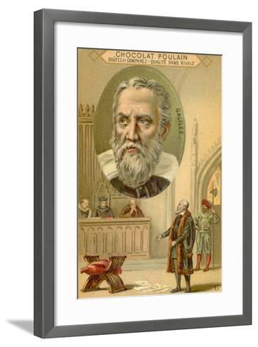 Galileo Galilei, Italian Physicist, Mathematician and Astronomer--Framed Art Print