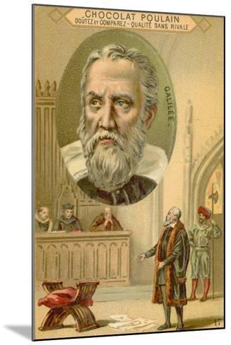 Galileo Galilei, Italian Physicist, Mathematician and Astronomer--Mounted Giclee Print