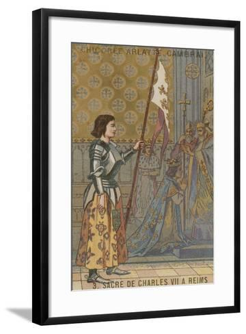 Coronation of King Charles VII of France at Reims, 1429--Framed Art Print