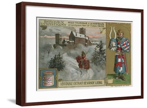 Hesse-Thuringia: the Wartburg and Landgrave Henry I, the Child--Framed Art Print