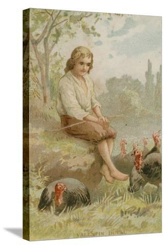 Valentin Jamerey-Duval, French Antiquary and Writer--Stretched Canvas Print