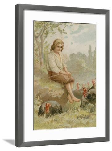 Valentin Jamerey-Duval, French Antiquary and Writer--Framed Art Print