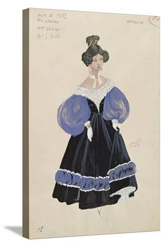 Larina, from the Opera 'Eugene Onegin'--Stretched Canvas Print