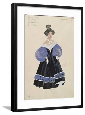Larina, from the Opera 'Eugene Onegin'--Framed Art Print