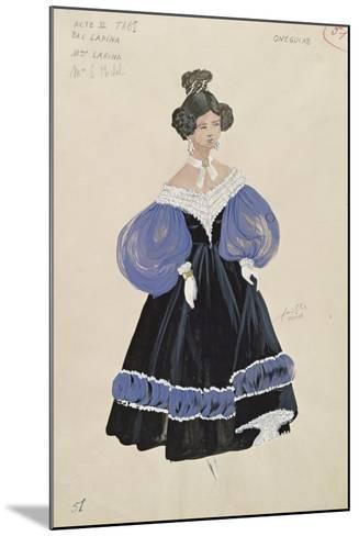 Larina, from the Opera 'Eugene Onegin'--Mounted Giclee Print