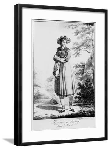 Paysanne D'Audorf Sand Le Tyrol--Framed Art Print