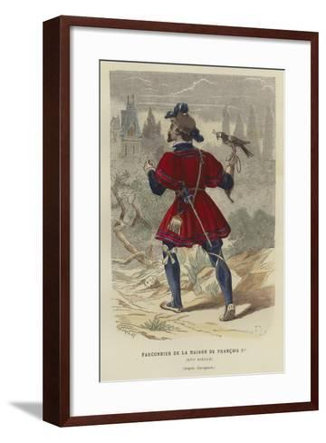 Falconer of the Household of Francis I of France, 16th Century--Framed Art Print