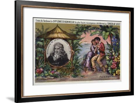 Jacques Henri Bernardin De Saint Pierre, French Writer and Botanist--Framed Art Print