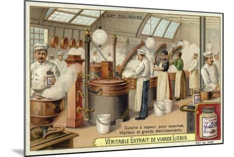 Steam Cooking, for Barracks, Hospitals and Large Establishments--Mounted Giclee Print
