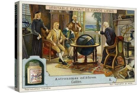 Galileo Galilei Italian Physicist, Mathematician and Astronomer--Stretched Canvas Print