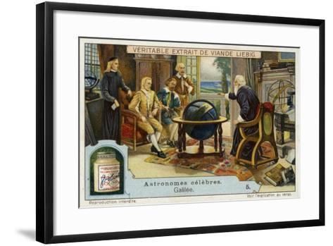 Galileo Galilei Italian Physicist, Mathematician and Astronomer--Framed Art Print