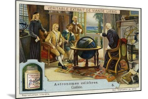 Galileo Galilei Italian Physicist, Mathematician and Astronomer--Mounted Giclee Print