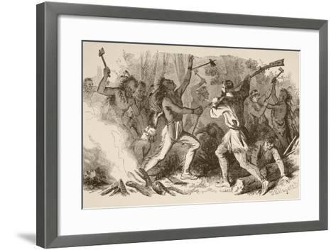 The Battle of Bloody Brook on September the 18Th, 1675--Framed Art Print