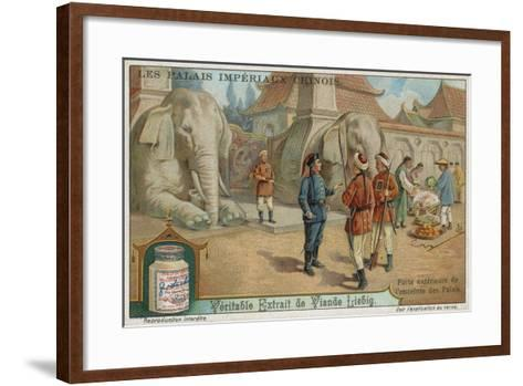 Outer Gate of the Enclosure Containing the Palaces--Framed Art Print