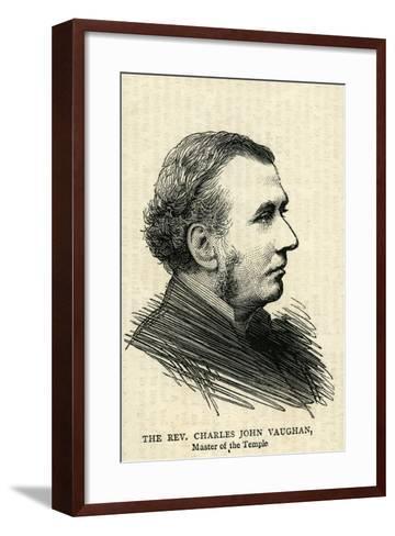 The Rev.Charles John Vaughan, the Dean of Llandaff--Framed Art Print