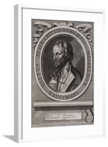 Philipp Melanchthon, German Theologian of the Protestant Reformation--Framed Art Print