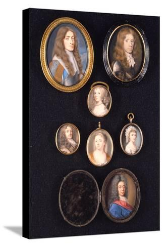 Miniatures from Ltor and Ttob: James, Duke of York, 1661--Stretched Canvas Print