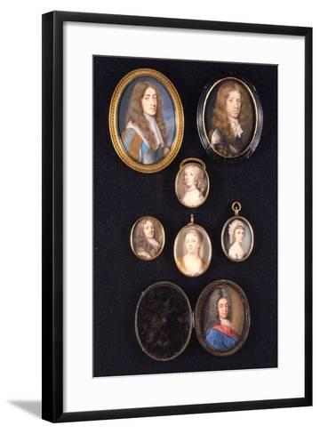 Miniatures from Ltor and Ttob: James, Duke of York, 1661--Framed Art Print