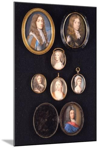 Miniatures from Ltor and Ttob: James, Duke of York, 1661--Mounted Giclee Print