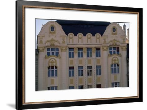 Art Nouveau Facade of Bank Building, 1906, Main Square--Framed Art Print