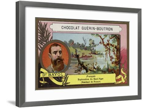 Jean-Marie Bayol, French Doctor, Explorer and Politician--Framed Art Print