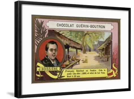 Jules Boissiere, French Writer, Journalist and Colonial Offocial in Tonkin--Framed Art Print
