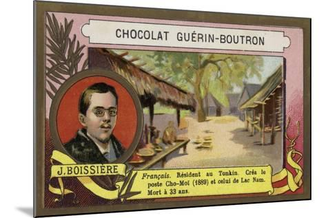 Jules Boissiere, French Writer, Journalist and Colonial Offocial in Tonkin--Mounted Giclee Print