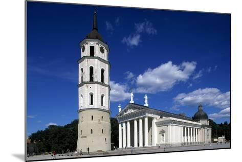 Cathedral of St Stanislaus and Ladislao and Bell Tower--Mounted Giclee Print