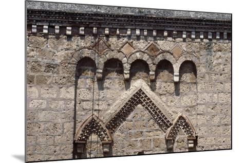 Decorative Detail from Bell-Tower, Monastery of St Scholastica--Mounted Giclee Print