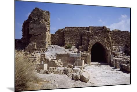 Front Door and Walls of Citadel from the Crusader Period--Mounted Giclee Print