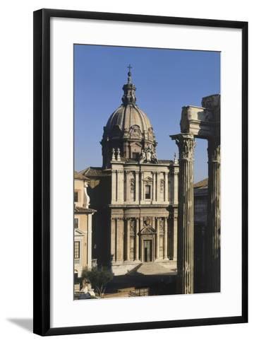 Church of Saints Luke and Martina--Framed Art Print