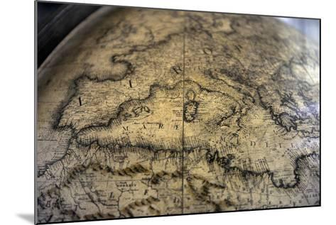 Terrestrial Globe by Cosmographer Vicenzo Coronelli--Mounted Giclee Print