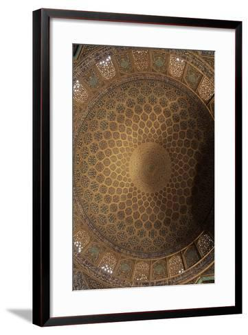 Interior Decoration of Dome of Sheikh Lutfollah Mosque--Framed Art Print