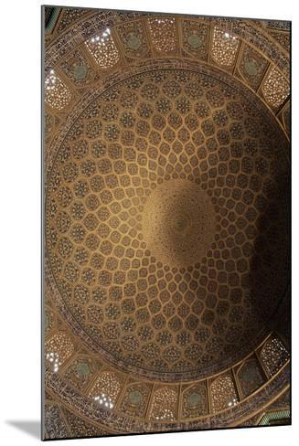 Interior Decoration of Dome of Sheikh Lutfollah Mosque--Mounted Giclee Print