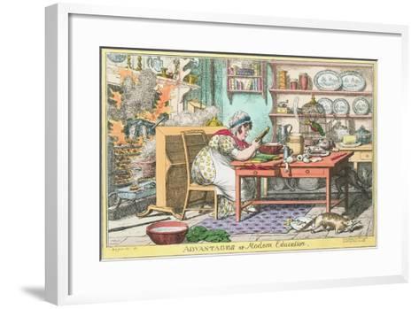 Advantages of Modern Education--Framed Art Print