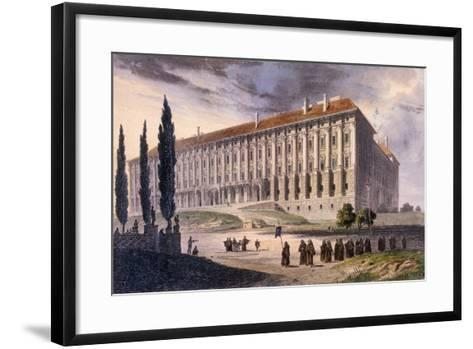 View of Loretto Square from the Capuchins, Prague, C.1810--Framed Art Print
