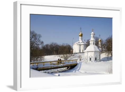 Russia, Sergiyev Posad, Trinity Monastery of St Sergius--Framed Art Print