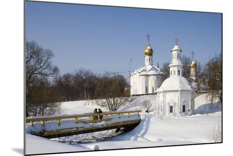 Russia, Sergiyev Posad, Trinity Monastery of St Sergius--Mounted Giclee Print