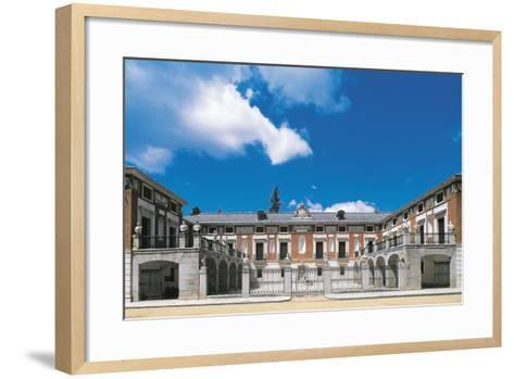 Spain, Madrid Province, Aranjuez, Real Casa Del Labrador--Framed Art Print