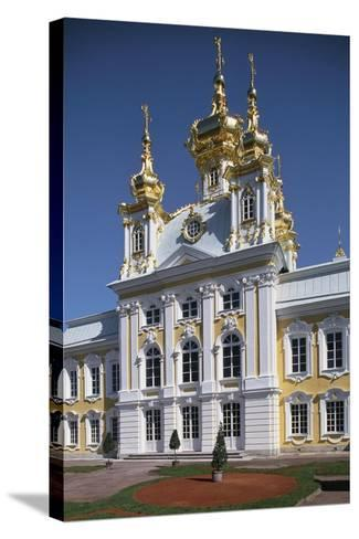 Facade of the Chapel in the East Wing of the Grand Palace--Stretched Canvas Print