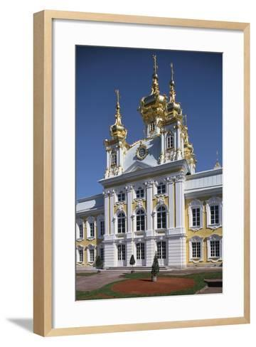 Facade of the Chapel in the East Wing of the Grand Palace--Framed Art Print