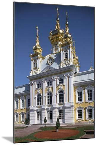 Facade of the Chapel in the East Wing of the Grand Palace--Mounted Giclee Print