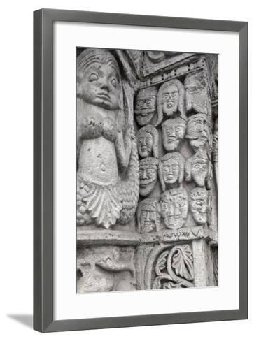 Detail of Decoration from Entrance to Basilica of San Michele Maggiore--Framed Art Print